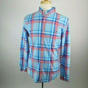 Vineyard Vines Slim Fit Tucker Plaid Shirt